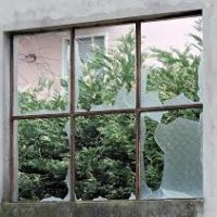 Repair shop windows
